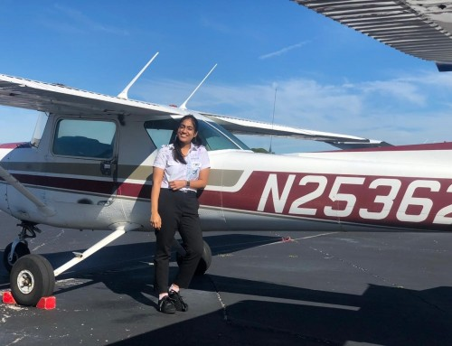 Rhea Ostwal Jain Of India Completes First Solo